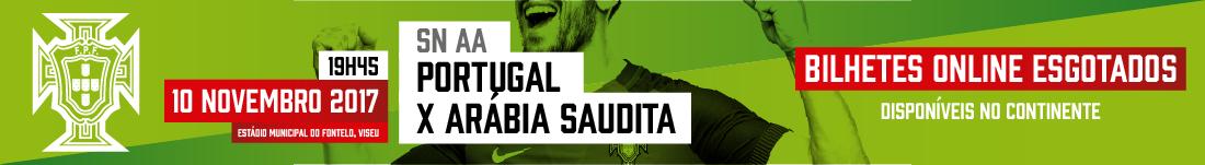 Portugal x Arábia Saudita